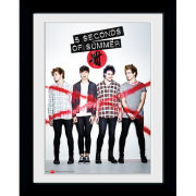 5 Seconds of Summer Album Cover - Framed Photographic - 16 x 12inch