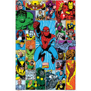 Marvel Grid - Maxi Poster - 61 x 91.5cm