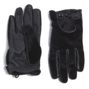 Maison Scotch Women's Pony Gloves - Black