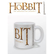 The Hobbit Logo White Mug