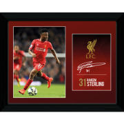 Liverpool Sterling 14/15 - Framed Photographic - 16x12