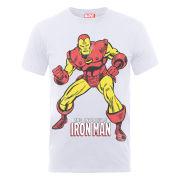 Marvel Iron Man Pose Men's T-Shirt - White