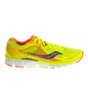 Saucony Women's Kinvara 5 Running Shoes - Yellow/Orange/Purple