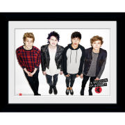 5 Seconds of Summer Group - Framed Photographic - 16 x 12inch