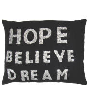 Torba Sequin Hope Believe Dream Cushion