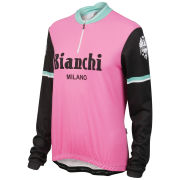 Bianchi Roccella Celebrative Women's Long Sleeve Jersey - Pink