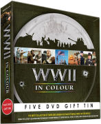 WWII In Colour Commemoration Gift Tin