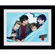 5 Seconds of Summer Rip - Framed Photographic - 16 x 12inch