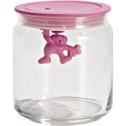 Alessi Gianni Pink Storage Jar - 12cm