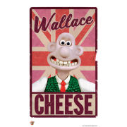 Wallace and Gromit Fine Art Print - Love Britain, Love Cheese