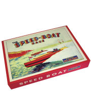 Speed Boat Race - Retro Board Game