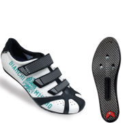 Bianchi Octopus Road Cycling Shoe - White/Celeste