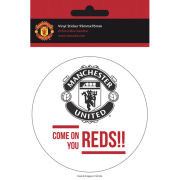 Manchester United Come On - Vinyl Sticker - 10 x 15cm