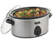 Your Kitchen Hero 5.5 Litre Oval Slow Cooker