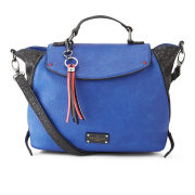Paul's Boutique Women's Francis Wing Crossbody Bag - Electric Blue/Black