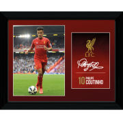 Liverpool Coutinho 14/15 - Framed Photographic - 16x12