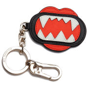 Karl Lagerfeld Women's Monster Mouth Keychain - Red