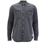 Jack & Jones Men's Lander Shirt - Dark Grey
