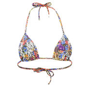 Paul Smith Accessories Women's Floral Bikini Top - Multi