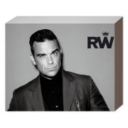 Robbie Williams Suit - 40 x 30cm Canvas