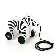 Brio Pull Along Zebra