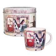 Alex Clark Ponies Mug In Tin
