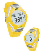 Skechers Wrist Band Watch & Heart Rate Monitor - Yellow