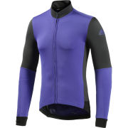 adidas Supernova Frigus Long Sleeve Jersey - Purple/Grey
