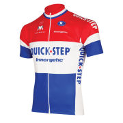 Quick Step Dutch National Champion Short Sleeve Cycling Jersey - 2011