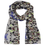 Vero Moda Mauanta Long Scarf - Black/Grey
