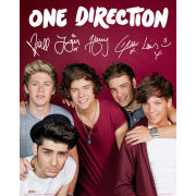 One Direction Maroon - Mini Poster - 40 x 50cm