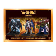 Neca Yu-Gi-Oh Series 2 - Gate Guardian 3 3/4 Inch Figure With Deluxe Display