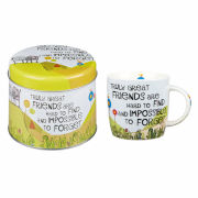 The Good Life Truly Great Friends Mug In Tin