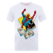 Marvel Spider-Man Block Men's T-Shirt - White