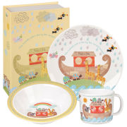 Little Rhymes Noah's Ark 3 Piece Melamine Set Gift Box - Multi