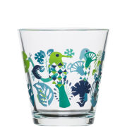 Sagaform Fantasy Medium Glass 4 Pack - Blue