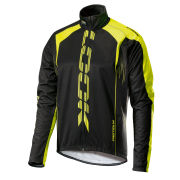 Look Men's Pro Team Jacket - Black/Fluorescent Green