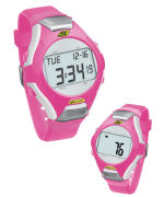 Skechers Wrist Band Watch & Heart Rate Monitor - Pink