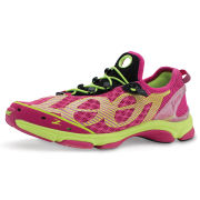Zoot Women's Ultra Tempo 6.0 Trainers - Beet/Safety Yellow
