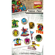 Marvel Characters - Tattoo Pack