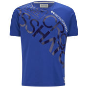 Crosshatch Men's Laydown T-Shirt - Blue