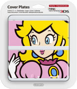 New 3DS Princess Peach Cover Plate