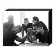 Take That Arm Wrestle - 40 x 30cm Canvas