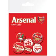 Arsenal Crests - Badge Pack