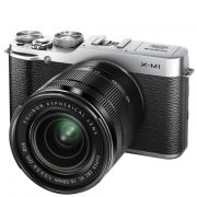 Fujifilm X-M1 Compact System Camera with 16-50mm IS Lens (HD 1080p, 16MP, Wi-Fi, 3 Inch LCD) - Silver