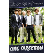 One Direction Standing Signatures Maxi Poster (61 x 91.5cm)