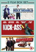 Superbad / Role Models / Kick-Ass