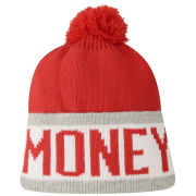 Money Men's Money Block Bobble Hat - Red