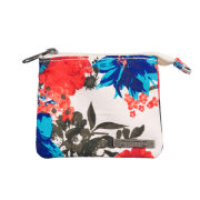 Animal Budva Canvas Wallet - Cream/Multi Floral Print