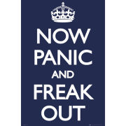 Now Panic And Freak Out - Maxi Poster - 61 x 91.5cm